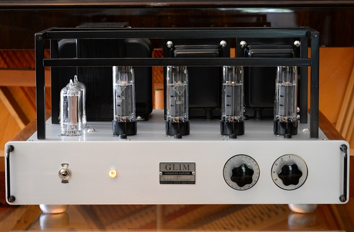 GLIM S30 integrated stereo amplifier