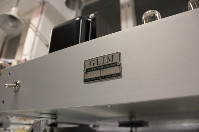 Glim M275 mono power amplifier