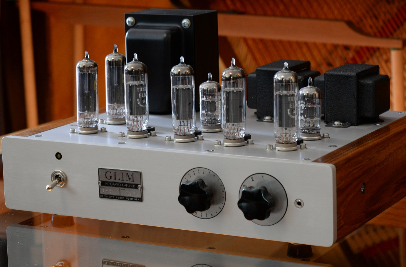 GLIM S10MkII integrated amplifier